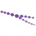 Triple Anal Pleasure Beads Lavender