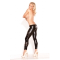 Kitten Wet Look Pants - Slashed Leggings