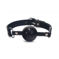 Devil Sticks Silicone Ball Gag Black