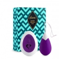 Anna Remote Vibrating Egg Purple