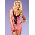 Fishnet Mini Dress with Bodice
