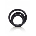 Black Rubber Ring Set