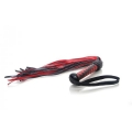 Scarlet Couture Diamond Flogger Black Red