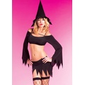 Witch 2pc set with hat & Stockings